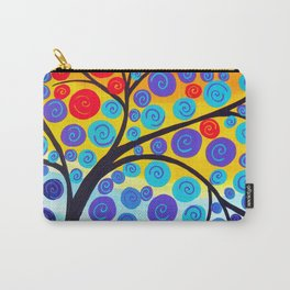 red tree of life Carry-All Pouch