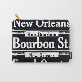 NEW ORLEANS FRENCH QUARTERS Carry-All Pouch
