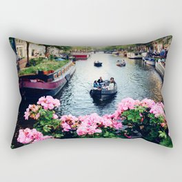 in love with Amster  Rectangular Pillow