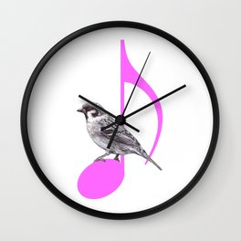 Song Bird Wall Clock