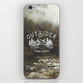 Outsider iPhone Skin