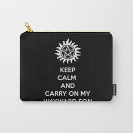 Keep Calm and Carry On: Supernatural Carry-All Pouch