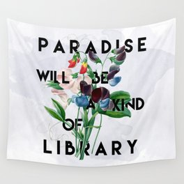Library Wall Tapestry
