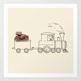 Nestle - Train Art Print