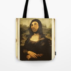 Ups! ( Mona Lisa - La Gioconda ) Tote Bag