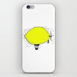 Lemon zeppelin iPhone Skin