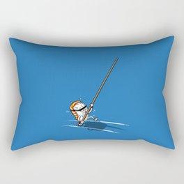 Sushi jump pertiga Rectangular Pillow