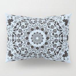 Princess Mandala - Blue Pillow Sham