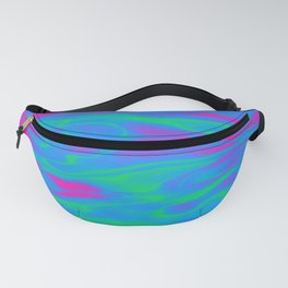 Polysexual Pride Shining Rippling Water Fanny Pack