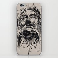 salvador dali iPhone & iPod Skins featuring Dali by nicebleed