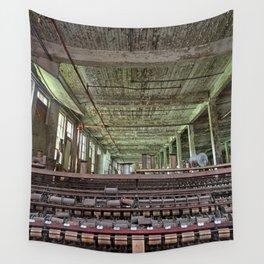 Abandoned Lonaconing Silk Mill Wall Tapestry