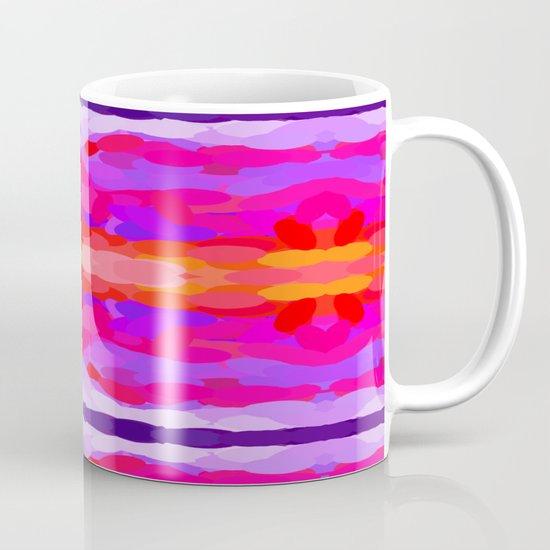 Purple, pink and orange tie dye Coffee Mug