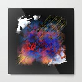 """Living Flames"" - Reformation Designs Metal Print"