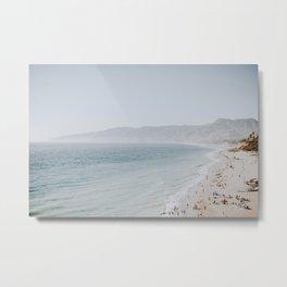 coast v / malibu, california Metal Print