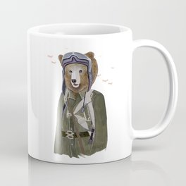 Aviator Bear Coffee Mug
