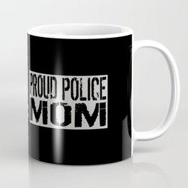 Police: Proud Mom (Thin Blue Line) Coffee Mug