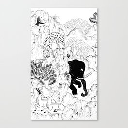 Selvagens  Canvas Print