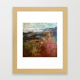 Moville Shore Path Framed Art Print
