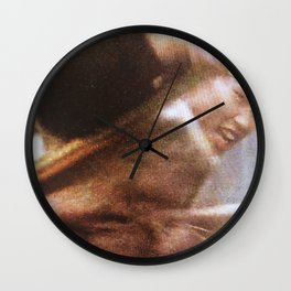 80s Acts of Violence III Wall Clock