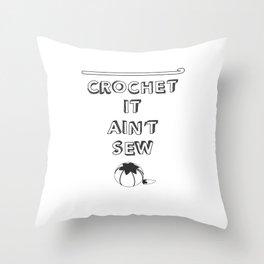 Punny Crafts Throw Pillow