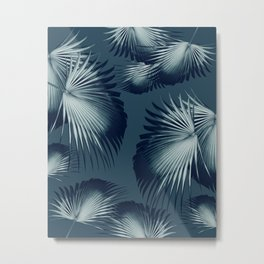 Fan Palm Leaves Paradise #12 #tropical #decor #art #society6 Metal Print