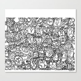 Wally Canvas Print