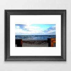 The Lifeguard's View Framed Art Print