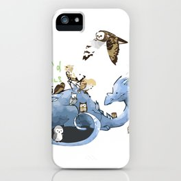 Hoard of owl iPhone Case