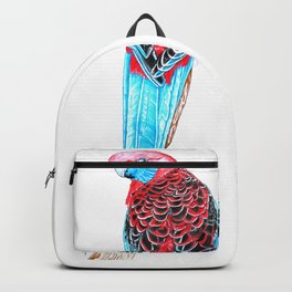 Blue Tail Parrot- The Pose Backpack