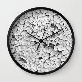 Cracked Paint Wall Clock