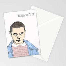 Friends don't lie Stationery Cards