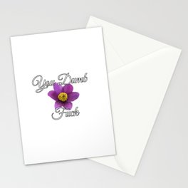 You Dumb Fuck [with Pasque] Stationery Cards
