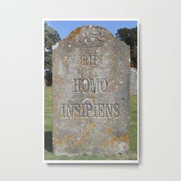 Epitaph 04. Metal Print