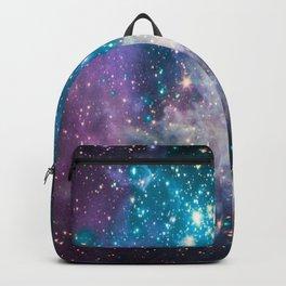 Lavender Teal Star Nursery Backpack