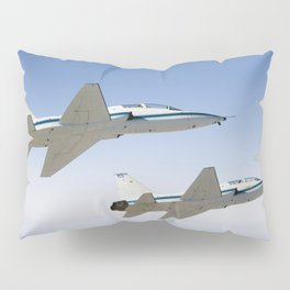 NASA Drydens two T-38A mission support aircraft fly in tight formation Sept 26th 2007 Pillow Sham