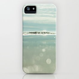 waves and sparkles iPhone Case