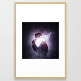 Interstellar +1 ~Saludo Framed Art Print