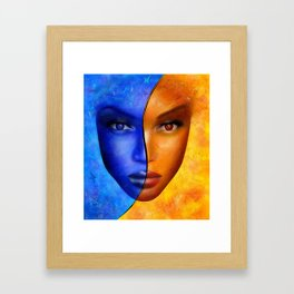 Frescanilla - the mirage Framed Art Print