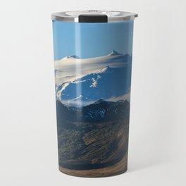 Snaefellsjokull volcano 2 Iceland Travel Mug
