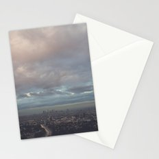 after the rain, Los Angeles Stationery Cards