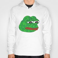 rare Hoodies featuring Rare Pepe by Mischievie