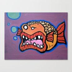 Bob the Goldfish Canvas Print