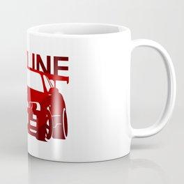 Nissan Skyline GT-R  - classic red - Coffee Mug