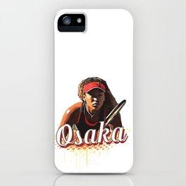 Naomi Osaka Tennis Champion iPhone Case