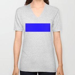 1200ff Blue Unisex V-Neck