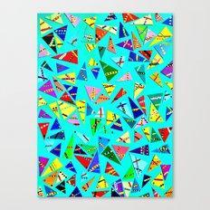 Triangle Mania Canvas Print