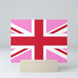 Gay Pink UK Pride Flag Mini Art Print