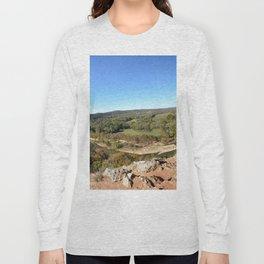 Sparrowhawk Mountain Series, No. 10 Long Sleeve T-shirt