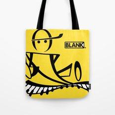 BLANKM GEAR - PIANOMAN T SHIRT Tote Bag