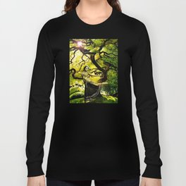 Beneath the Bodhi Tree Long Sleeve T-shirt